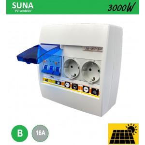 Schotman Elektro - SEP SUNA 3000W PV-verdeler