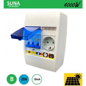 Schotman Elektro - SEP SUNA 4000W PV-verdeler