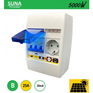 Schotman Elektro - SEP SUNA 5000W PV-verdeler