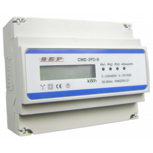 SEP CMD3PD-M KWH-meter 3f direct 100A + MBUS