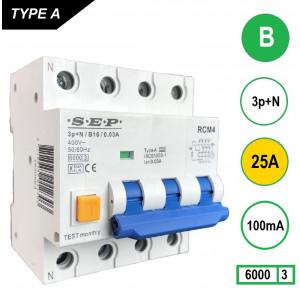 SEP RCM4-B25-100mA