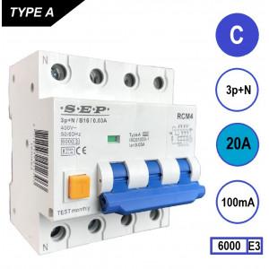 SEP RCM4-C20-100mA